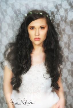 "AH Productions: April Heckemeyer ""Romantic Bohemian"" HMUA: Destiny Hoffman Murrell Model: Destiny Hoffman Murrell Photographer: Aaron Rhoads"